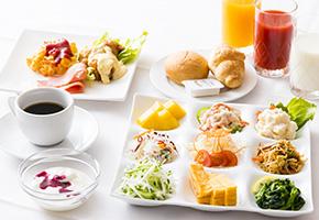 【当館オススメ】宮崎の郷土料理が食べられる朝食バイキング&コーヒー券付☆繁華街まで徒歩2分☆